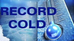 Record Cold Alert