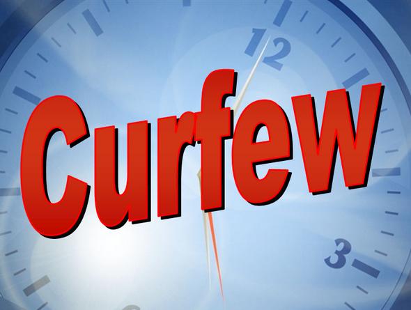 Bonifay Curfew Change