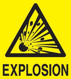 Explosion Alert